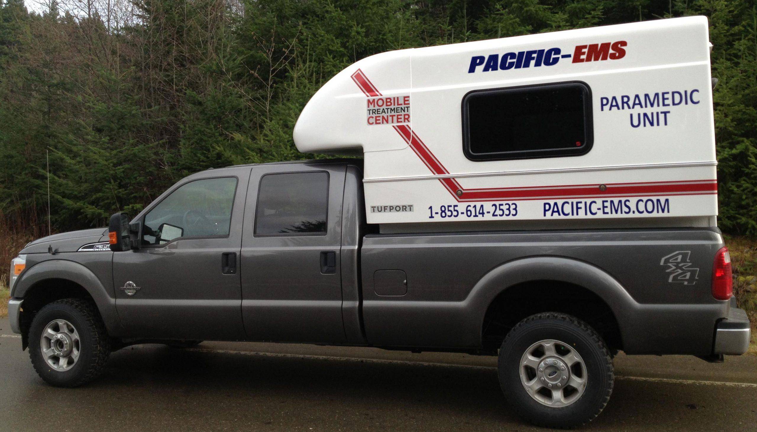 Mobile Treatment Center Pacific EMS ground ambulance patient transfer service