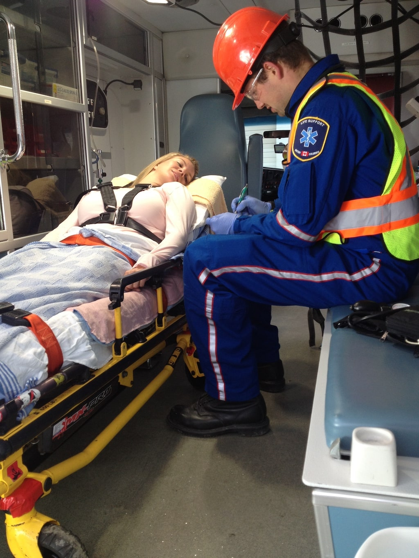 Patient Transport Services Pacific EMS