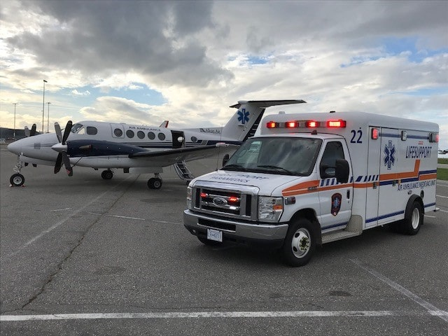 private ambulance BC min